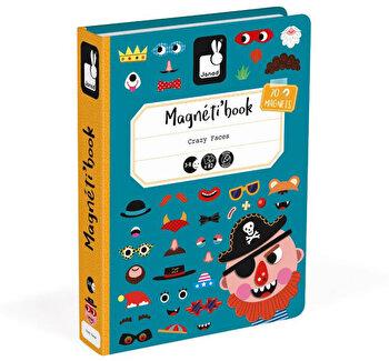 Carte magnetica – Fete nastrusnice baieti, 70 piese de la Janod