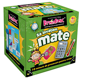 Joc BrainBox – Sa invatam Mate de la Green Board Games
