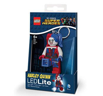 LEGO DC Super Heroes, Breloc cu laterna – Harley Quinn de la LEGO