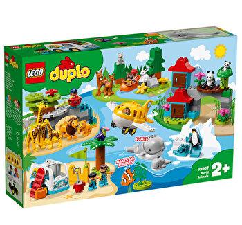 LEGO DUPLO, Animalele lumii 10907 de la LEGO