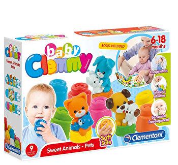 Baby Clemmy - Set de joaca cu carticica si animalute de companie