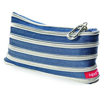 Penar cu fermoar, Zipit Jeans – jeans cu dinti argintii de la ZIPIT