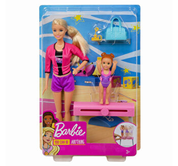 Papusa Barbie, cariera in sport antrenoare de gimnastica de la Barbie
