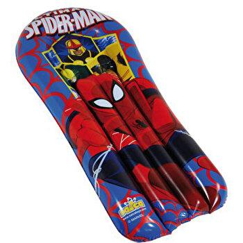 Placa inot gonflabila Saica Spiderman 110 cm de la SAICA