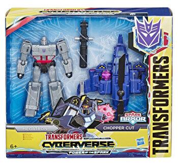 Transformers Cyberverse – Figurina Spark Armor Megatron de la Transformers
