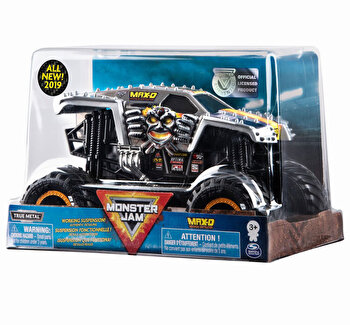 Monster Jam, machete metalice scara 1 la 24 max d de la Monster Jam