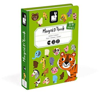 Carte magnetica – Animale, 30 piese de la Janod