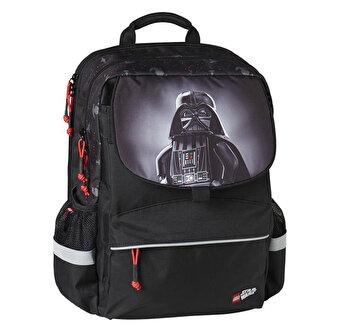 Ghiozdan scoala Starter Plus LEGO Core Line – design Star Wars Darth Vader de la LEGO