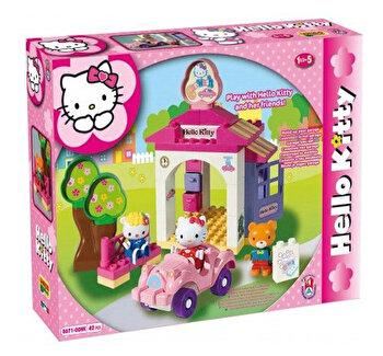 Set constructie Unico Plus Hello Kitty La spalatorie