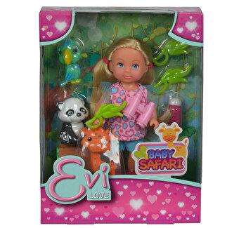 Papusa Evi Love Safari, cu figurine si accesorii de la Simba