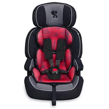 Scaun auto, Navigator, 9-36 Kg, Black & Red Cities de la Lorelli