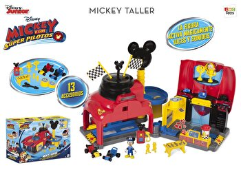 Set de joaca Disney – Garaj Mickey Roadster Racers de la Disney