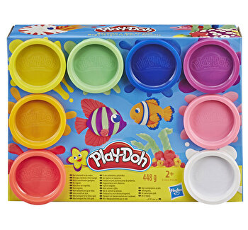 Play-Doh, Set 8 Cutii Rainbow de la Play-Doh