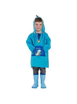 Pelerina de ploaie pentru copii R201 Albastra M de la Jollywalk