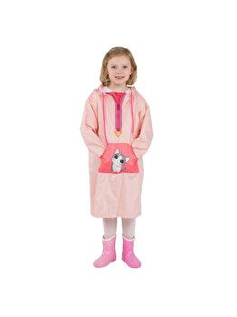 Pelerina de ploaie pentru copii R201 Roz S de la Jollywalk