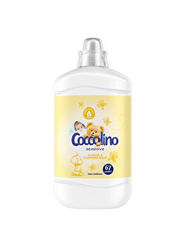 Balsam de rufe Coccolino Sensitive Almond 1.68L, 67 Splari de la Coccolino