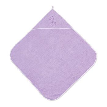 Prosop bebe cu gluga, 80x80 cm, Violet