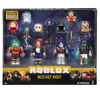 Set 4 figurine interschimbabile Roblox Celebrity de la Roblox