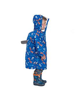 Pelerina de ploaie pentru copii YY03 Albastra M de la Jollywalk