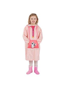 Pelerina de ploaie pentru copii R201 Roz L de la Jollywalk