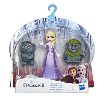 Frozen 2 – Mini figurine cu prieteni Elsa si trolii de la Disney