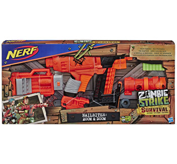 Blaster Nerf Zombie Strike Nailbiter: Zoom and Doom de la Nerf