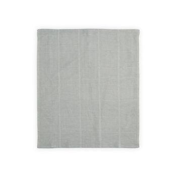 Paturica crosetata din bumbac, 75×100 cm, Grey de la Lorelli