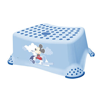 Inaltator baie antiderapant, Disney Mickey, Light Blue de la Lorelli