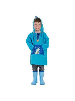 Pelerina de ploaie pentru copii R201 Albastra S de la Jollywalk