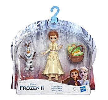 Frozen 2 – Mini figurine cu prieteni Anna si Olaf de la Disney