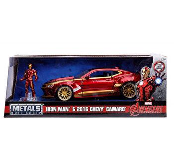 Macheta metalica - Ironman Chevy Camaro 2016, Scara, 1:24