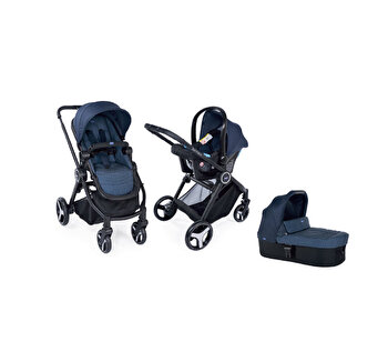 Carucior 3 in 1 Chicco Trio Best Friend Light, Oxford, 0 luni +