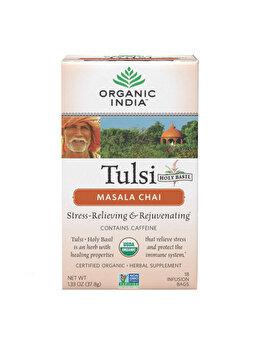 Organic India Ceai Tulsi Masala Chai 18 IB de la ORGANIC INDIA