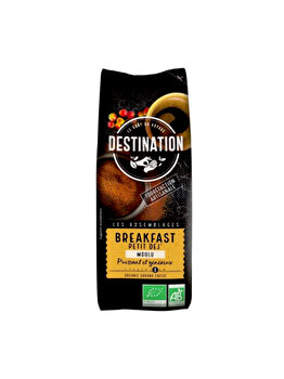 ECO DESTINATION CAFEA MACINATA BREAKFAST 250G de la ECO DESTINATION