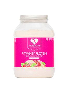 Fit Whey 80% – Strawberry 1000g de la WOMEN'S BEST