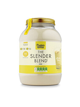 The Slender Blend – Banane ( 1.2kg ) de la Protein World