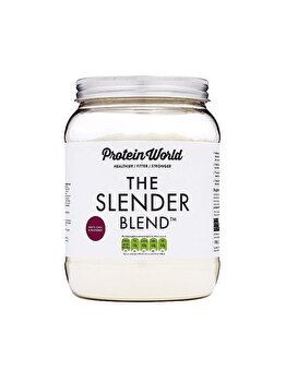 The Slender Blend – Ciocolata alba si zmeura ( 600g ) de la Protein World