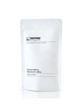 Calciu 800mg & Vitamina D3 1,000iu (120 Tablete) de la Oxford Vitality