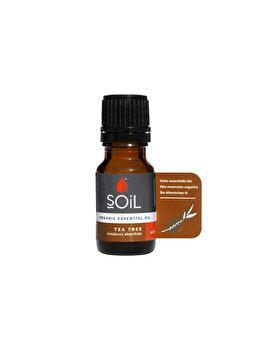 SOiL Ulei Esential Tea Tree – Arbore Ceai 100% Organic ECOCERT 10ml de la SOiL