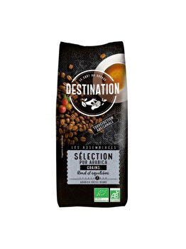ECO DESTINATION CAFEA BOABE SELECTION-PUR ARABICA 250G de la ECO DESTINATION