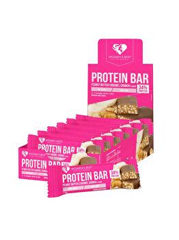 Protein Bar – Peanut Butter Caramel Crunch (12 buc.) de la WOMEN'S BEST