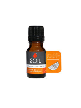 SOiL Ulei Esential Orange 100% Organic ECOCERT 10ml de la SOiL