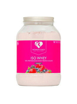 ISO Whey 85% – Mixed Berry 1000g de la WOMEN'S BEST