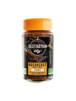ECO DESTINATION CAFEA LIOFILIZATA BREAKFAST 100G