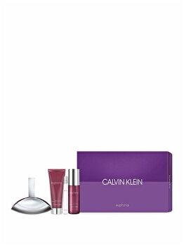 Set Cadou Calvin Klein Euphoria (apa De Parfum 100 Ml + Apa De Parfum 10 Ml + Lapte De Corp 100 Ml + Spray De Corp 150 Ml), Pentru Femei