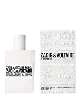 Apa de parfum Zadig & Voltaire This Is Her, 50 ml, pentru femei de la Zadig & Voltaire