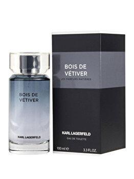 Apa de toaleta Karl Lagerfeld Les Parfums Matieres Bois de Vetiver, 100 ml, pentru barbati de la Karl Lagerfeld