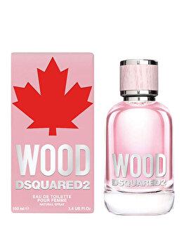 Apa de toaleta Dsquared2 Wood, 100 ml, pentru femei