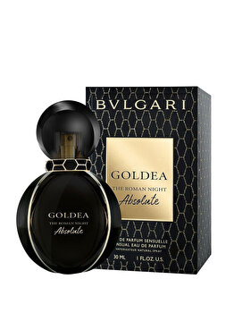 Apa de parfum Bvlgari Goldea the Roman Night Absolute, 30 ml, pentru femei