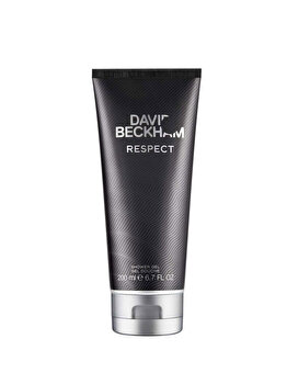 Gel de dus David Beckham Respect, 200 ml, pentru barbati de la David Beckham